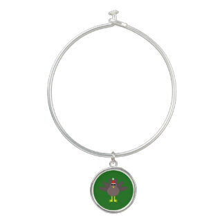かわいいクリスマスのトルコの腕輪のブレスレット バングルブレスレット