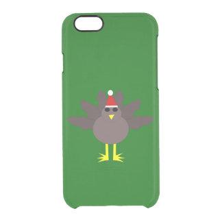 かわいいクリスマスのトルコのiPhoneの場合 クリアiPhone 6/6Sケース