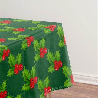 かわいいクリスマスの果実のテーブルクロス テーブルクロス