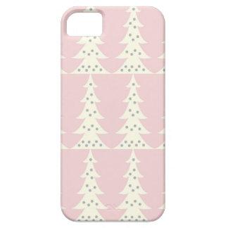 かわいいクリスマスツリーの冬のデザインのiPhone 5の場合 iPhone SE/5/5s ケース