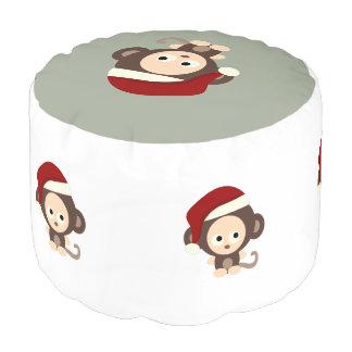 かわいいクリスマス猿 プーフ