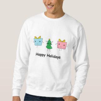 かわいいクリスマス スウェットシャツ