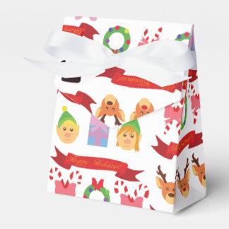 かわいいクリスマス! フェイバーボックス