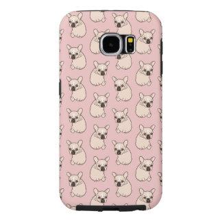 かわいいクリーム色のFrenchieは愛を必要とします Samsung Galaxy S6 ケース