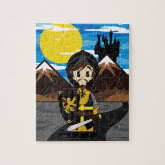 かわいいクルセーダーの騎士ジグソーパズル ジグソーパズル