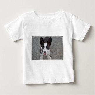 かわいいコーギーの子犬 ベビーTシャツ