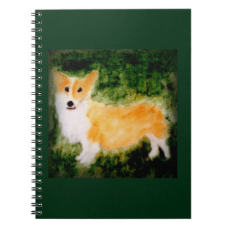 かわいいコーギー犬の芸術 ノートブック