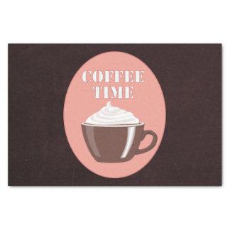 """かわいいコーヒー・マグCafé """"コーヒー時間"""" 薄葉紙"""
