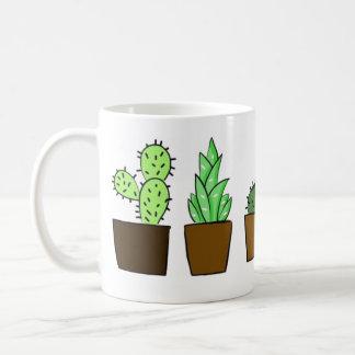 かわいいサボテンのマグ コーヒーマグカップ