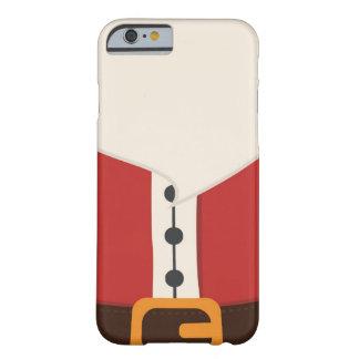 かわいいサンタクロースの衣裳のiPhone 6/6sの場合 Barely There iPhone 6 ケース