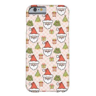 かわいいサンタクロース BARELY THERE iPhone 6 ケース