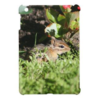 かわいいシマリスの写真が付いているiPadの小型カバー iPad Mini カバー