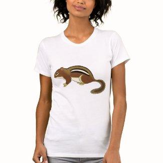 かわいいシマリス TEE シャツ