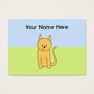かわいいショウガ猫 名刺