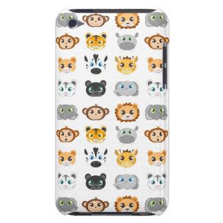かわいいジャングル動物パターン Case-Mate iPod TOUCH ケース
