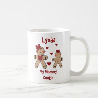 かわいいジンジャーブレッドのクッキーの漫画 コーヒーマグカップ