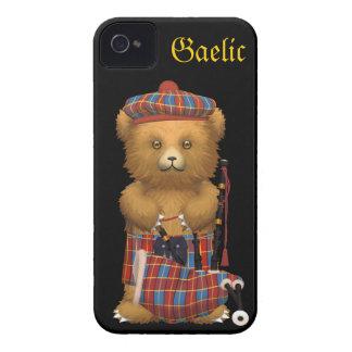 かわいいスコットランドのテディー・ベア-ゲール語 Case-Mate iPhone 4 ケース