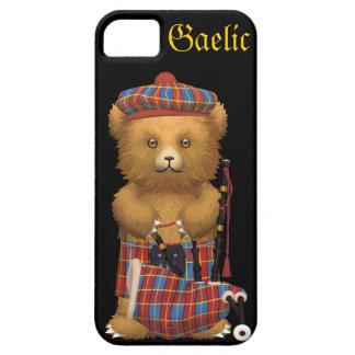 かわいいスコットランドのテディー・ベア-ゲール語 iPhone SE/5/5s ケース