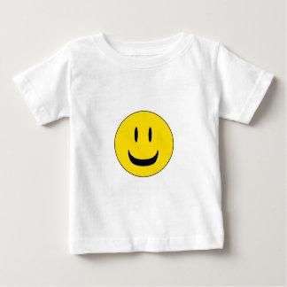 かわいいスマイル ベビーTシャツ