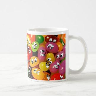 かわいいゼリー菓子のスマイリー コーヒーマグカップ