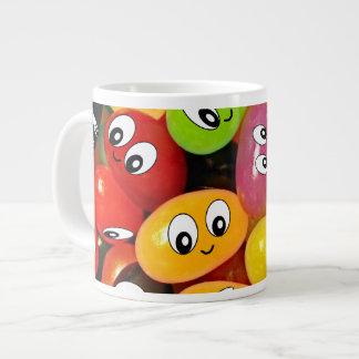 かわいいゼリー菓子のスマイリー ジャンボコーヒーマグカップ
