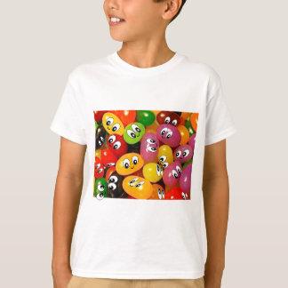 かわいいゼリー菓子のスマイリー Tシャツ