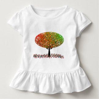 かわいいゼリー菓子の菓子の木 トドラーTシャツ
