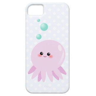 かわいいタコの漫画 iPhone SE/5/5s ケース