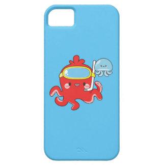かわいいタコ iPhone SE/5/5s ケース