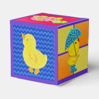 かわいいダッキーの赤ん坊のギフト用の箱 フェイバーボックス