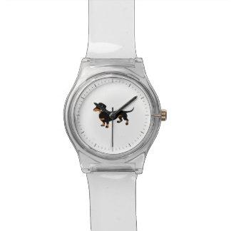 かわいいダックスフント- Doxie犬 腕時計