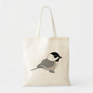 かわいいチビ(小さくかわいく書いた感じ)の《鳥》アメリカゴガラ トートバッグ