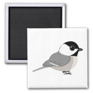 かわいいチビ(小さくかわいく書いた感じ)の《鳥》アメリカゴガラ マグネット