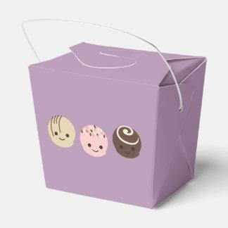 かわいいチョコレートトラッフル フェイバーボックス