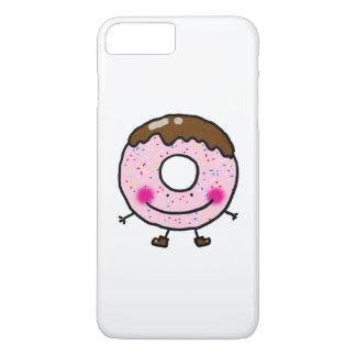 かわいいチョコレートドーナツ(ドーナツ) iPhone 8 PLUS/7 PLUSケース