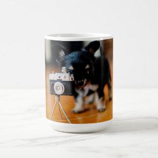 かわいいチワワのマグ コーヒーマグカップ