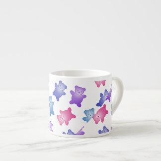 かわいいテディー・ベアの子供の誕生日、ベビーシャワー エスプレッソカップ