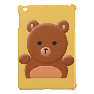 かわいいテディー・ベアのiPadの小型場合 iPad Mini Case
