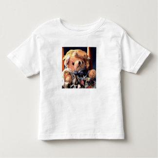 かわいいテディー・ベア トドラーTシャツ