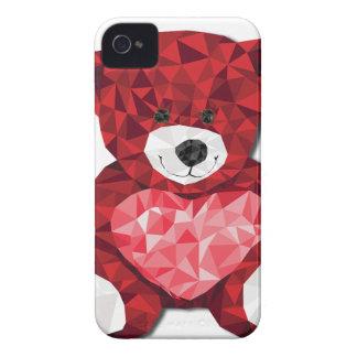 かわいいテディー・ベア Case-Mate iPhone 4 ケース