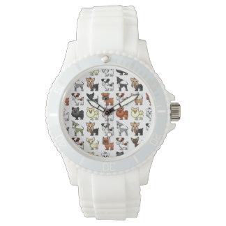かわいいトイドッグの品種パターン 腕時計