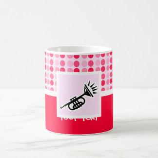 かわいいトランペット コーヒーマグカップ