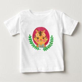 かわいいトラ ベビーTシャツ