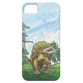 かわいいトリケラトプスの電子付属品 iPhone SE/5/5s ケース