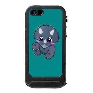 かわいいトリケラトプス ウォータープルーフiPhone SE/5/5sケース