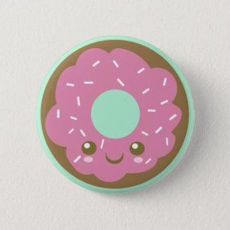 かわいいドーナツボタン 5.7CM 丸型バッジ