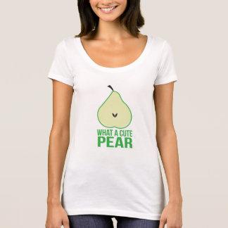 かわいいナシのワイシャツ Tシャツ