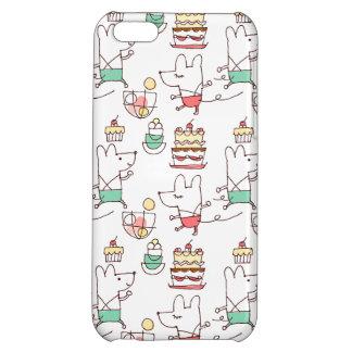 かわいいネズミのベーカリーのシェフのスケッチ iPhone5Cケース