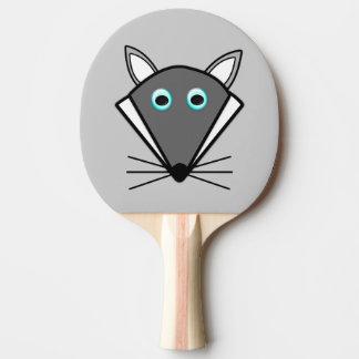 かわいいハロウィンのオオカミの卓球ラケット 卓球ラケット