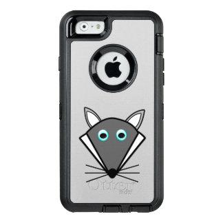 かわいいハロウィンのオオカミの電話箱 オッターボックスディフェンダーiPhoneケース